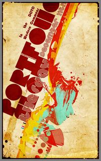 27 Striking Retro Poster Design Inspiration